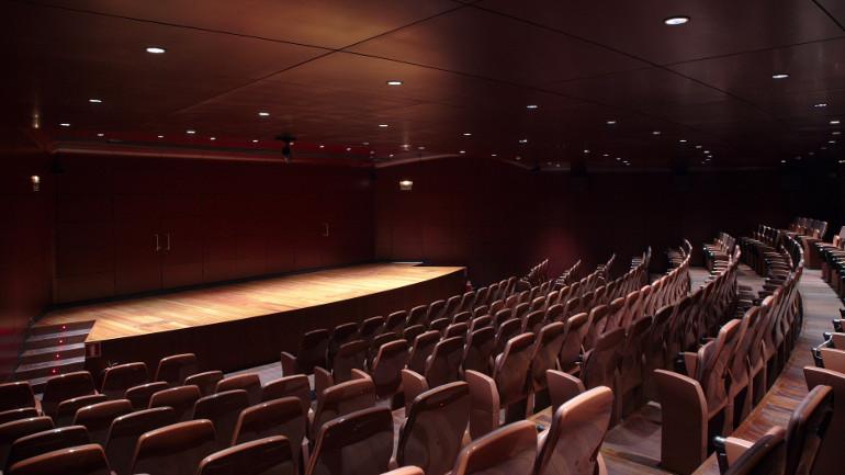 Sala de conciertos de música clásica